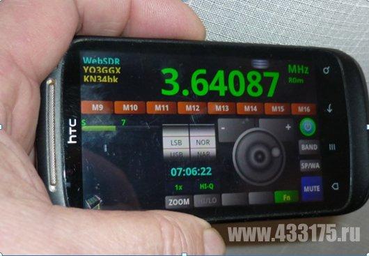 Радиолюбительские WEB SDR