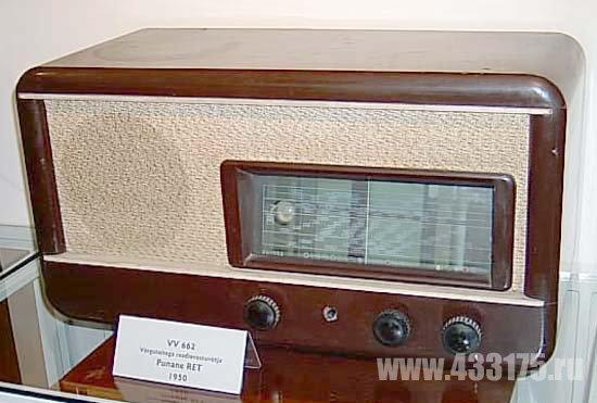 Шестиламповый радиоприемник