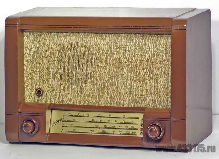Радиоприемник Родина-52